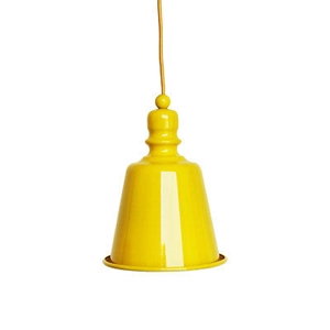 Picture of Pagoda Pendant Light E27 Edison Screw 60Watt (Yellow)