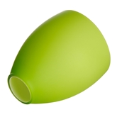 Picture of Replacement Glass Shade For Flexi Chrome Base Table Lamp with GREEN Glass Shades