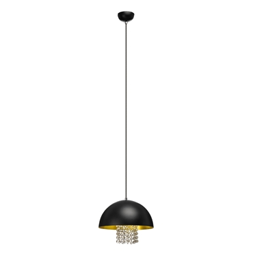 Picture of Chic Pendant Light With Hanging Crystals