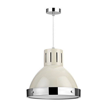Picture of Vermont Pendant Light Single Soft Clay