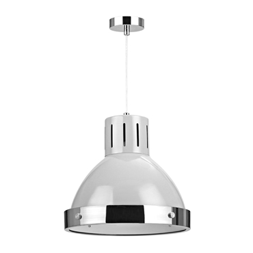 Picture of Vermont Pendant Light Single Flint Grey
