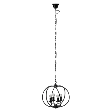 Picture of Aspen Pendant Light Matt Black Iron
