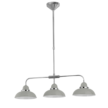 Picture of Jasper Pendant Light 3 Shades Light Grey