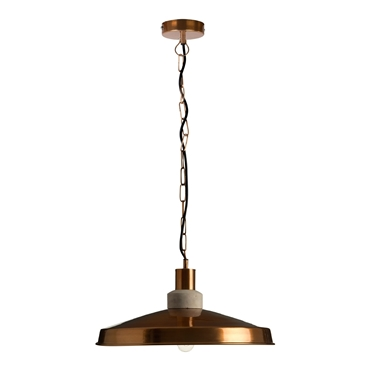 Picture of Retro Pendant Light Single Copper Finish