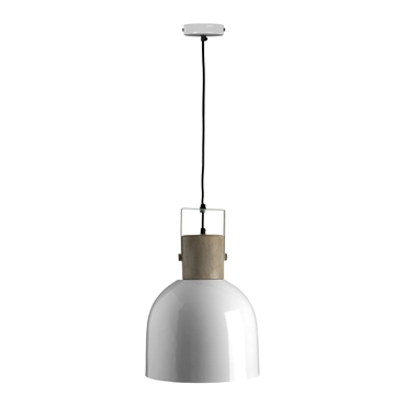 Picture of Stockholm Pendant Light Single Bell Shaped White
