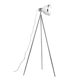 Picture of Tripod Floor Lamp White Shade / Chrome