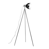 Picture of Tripod Floor Lamp Black Shade / Chrome