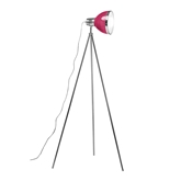 Picture of Tripod Floor Lamp Hot Pink Shade / Chrome