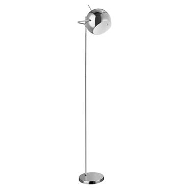 Picture of Modern Floor Lamp Chrome / White Inside
