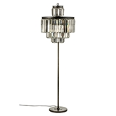 Picture of Art Deco Floor Lamp Iron / Crystal