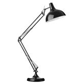 Picture of Study Floor Lamp Black Metal Fully Adjustable