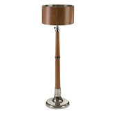 Picture of Churchill Extendable Floor Lamp Genuine Leather