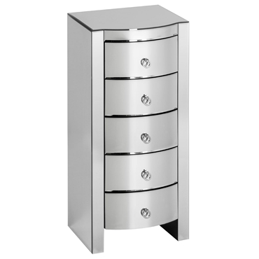 Picture of Verona Curved Tall Boy Drawers