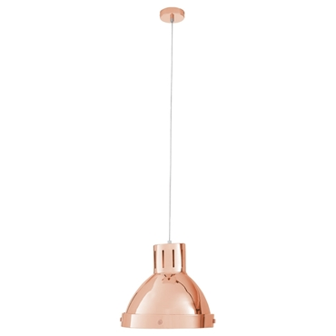 Picture of Jasper Copper Chrome Finish Single Pendant Light