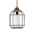 Picture of Beacan Black Metal Wire Pendant Light