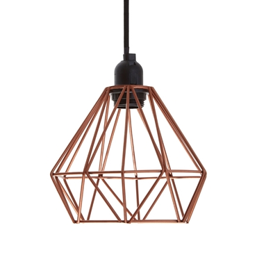 Picture of Bartol Copper Metal Wire Pendant Light
