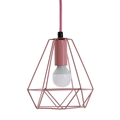 Picture of Beli Pink Metal Wire Pendant Light