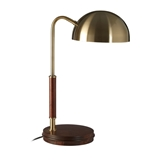 Picture of Antique Brass Finish Task Lamp