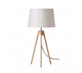 Picture of Tripod White Shade / EU Plug Table Lamp