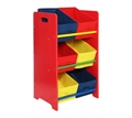 Picture of Kids 3x2 Canvas Tubs Storage Unit