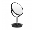Picture of Chic Black Plastic Swivel Table Mirror