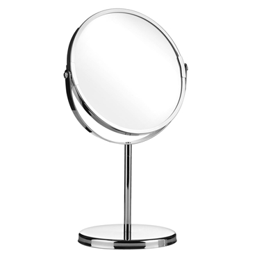 Picture of Tall Chrome 2 sided Swivel Mirror