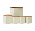 Picture of 5Pc Rhombus Storage Set