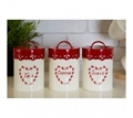 Picture of Anglaise Tea, Coffee & Sugar Canister Set