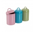 Picture of Lily Tea, Coffee & Sugar Canister Set