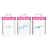 Picture of Pink Tea, Coffee And Sugar Set