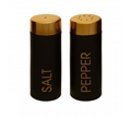 Picture of Liberty Black Enamel Salt And Pepper Set