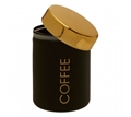 Picture of Liberty Black Enamel Coffee Canister