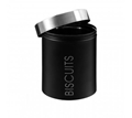 Picture of Black Enamel Biscuit Canister
