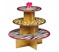 Picture of Diva Print Cake Stand