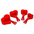Picture of Red Heart Measuring Cups - Set of 4