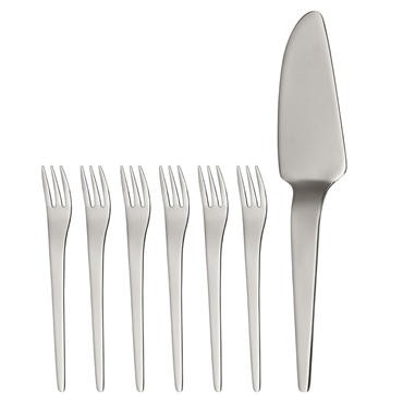 Picture of Curve Cake Serving Set
