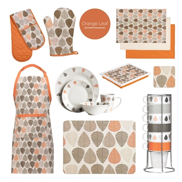 Picture of Orange Leaf Apron