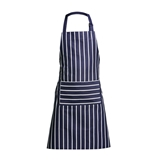 Picture of Navy Butcher Stripe Apron