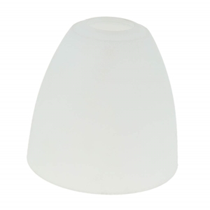 Picture of Replacement Glass Shade For Flexi Chrome Base Table Lamp with WHTE Glass Shades