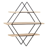 Picture of Brixton 3 Tier Rhombus Shelves
