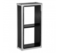 Picture of Crocodile Leather Effect Single Wall Cube