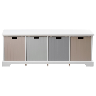 Picture of New England 4 Drawer Bench
