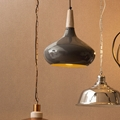 Picture of Stockholm Grey Mild Steel Pendant Light