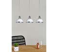 Picture of White & Chrome Jasper 3 Shade Pendant Light