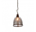 Picture of Terina iron / glass pendant light