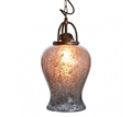 Picture of Terina antique silver finish pendant light