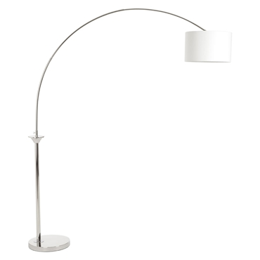 Picture of Hubert Nickel Finish Arc Floor Lamp