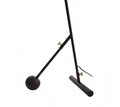 Picture of Mano Black & Gold Floor Lamp