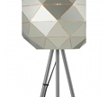 Picture of Mateo Silver Finish Floor Lamp