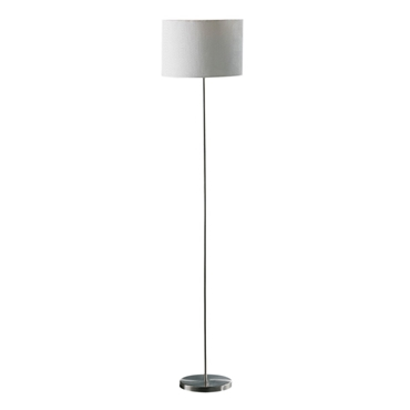 Picture of Forma Cream Waffle Effect Shade Floor Lamp - EU Plug